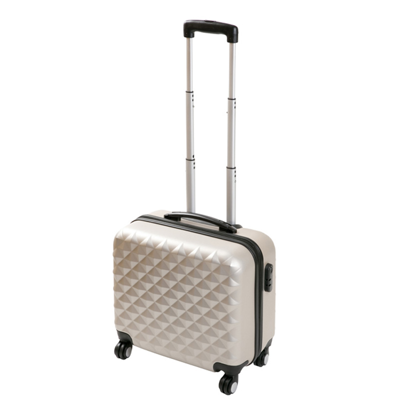 guangzhou waterproof luggage travel trolley case for 4 wheel suitcase sale