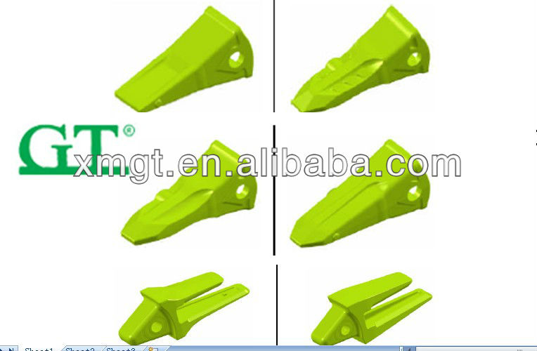 Sell PC200 bucket teeth and adaptor 205-70-19570ls /lk/rc/sk rock bucket teeth