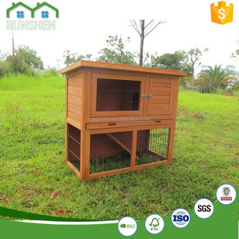 how to build a extra large rabbit hutch