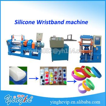 silicon wristband machine