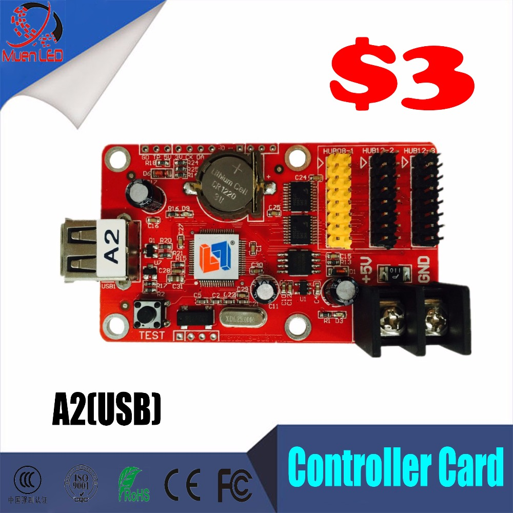 Muen Led Display Controller Card A2 USB