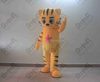little star tiger mascot costumes