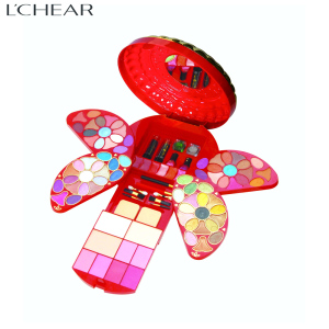 512093 LCHEAR brand professional beauty cosmetics wholesale waterproof makeup kit for ladies