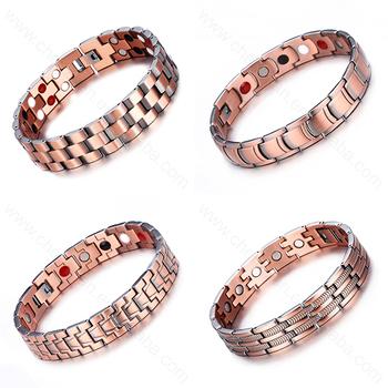 Hot Arthritis Bangle Magnetic Jewelry Braided Copper Bracelet
