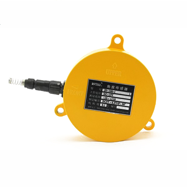 digital angle sensor measurement used for mobile crane