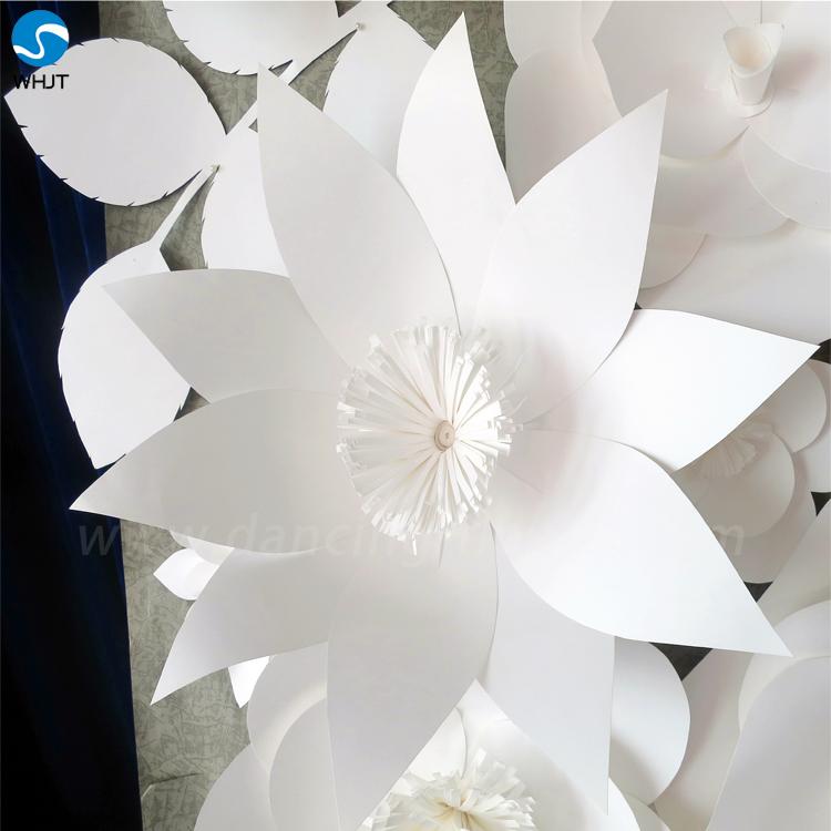 Decoracion De La Boda Barato Grandes Flores De Papel De Seda Para La