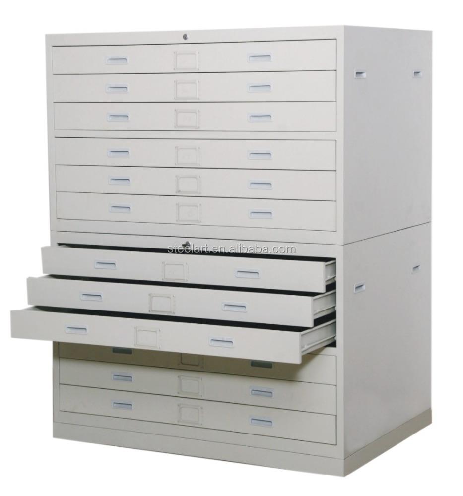 Drawing Map Storage Cabinet Multi Drawer Metal Cabinet Buy