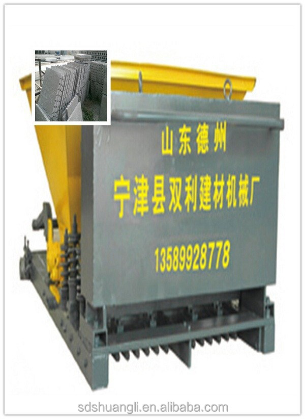 small business opportunities concrete hollow core board production equipment