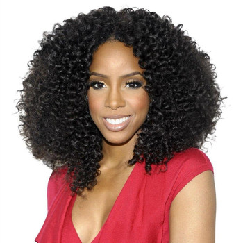 Royal Boutique Crochet Braids With Human Malaysian Afro Curly Hair