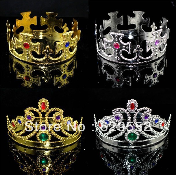 King And Queen Crown Rings More Info
