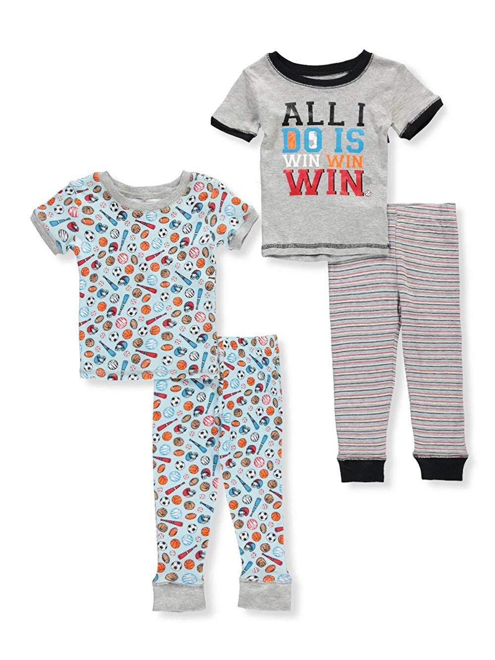 Boys Only Boys' 4-Piece Pajama Set