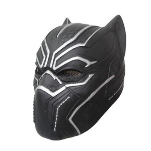 Black Panther Mask Gifts Helmet For Adult Toys Halloween Party Latex Mask