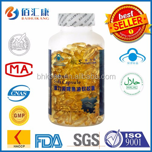 Supplements Vitamins Fish Oil Capsule