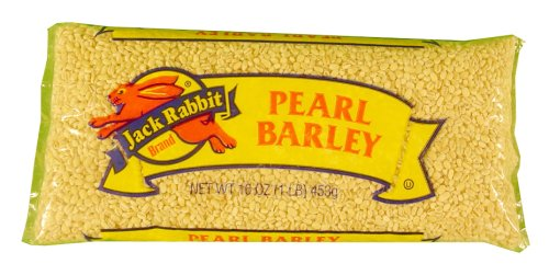 Jack Rabbit Pearl Barley, 1 pound packages -- 24 packages per case