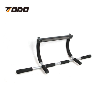 Steel Abdominal Chinning Exercise Door Pull Up Bar Commercial Fitness Door  Gym Bar
