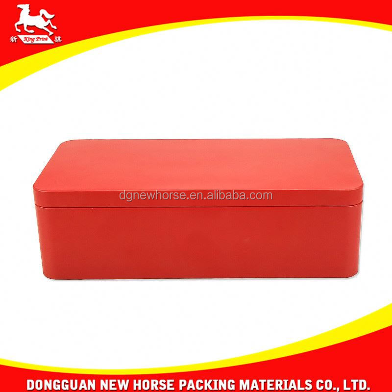 rectangular sliding metal mint packaging box