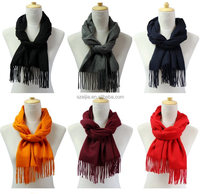 Fashion 100 acrylic cashmere feel acrylic scarf