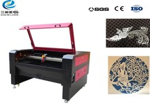 large format auto feeding fast speed high precision good quality mini sticker co2 laser cutting machine