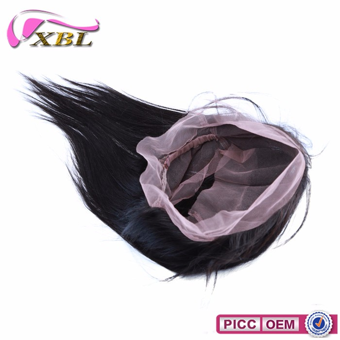 Within Large Stock New Arrival Mink Brazilian Body Wave And Straight 360 Full Lace Closure