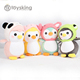 Kawaii Soft Mini Plush Penguin Toys with Japanese Style and Adolable Hat