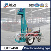 Small water well drilling machine--tractor type, easy move on land