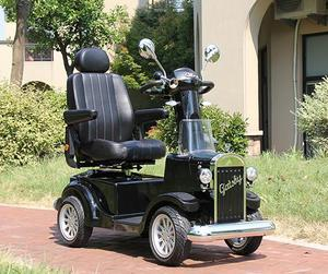 Germany top technology vintage style 4 wheel one person seat mobility scooter for adults
