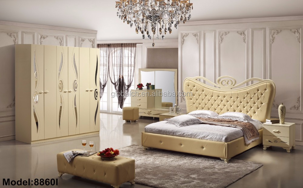 2015 New Design Home Furniture Modern Bedroom Sets Cheap Bed