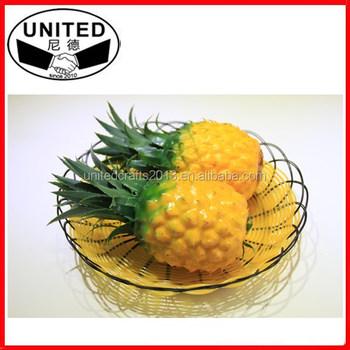 Decorative Fruit Artificial Pineapple Fake Pineapple Buy Fresh