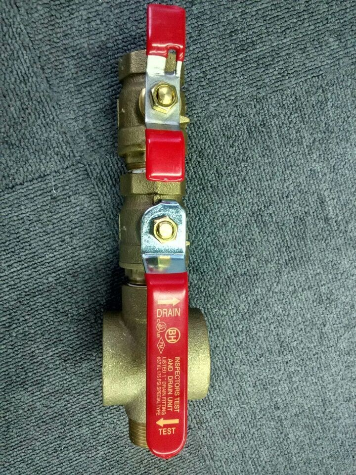 Tyco Ball Valve Fire Fighting Inspector Test On Off W