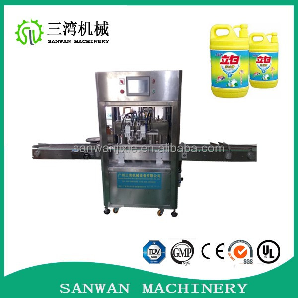 2017 newest easy-operated deodorant filling machine factory for engine oil