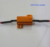 25W 6ohm car LED HID light canceler resistor