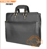 Ballistic Briefcase with Superior Cowhide leather /waterproofness, high abrasion resistance, and high tensile strength.