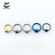 Steel ball nose ring indian nose studs body jewelry