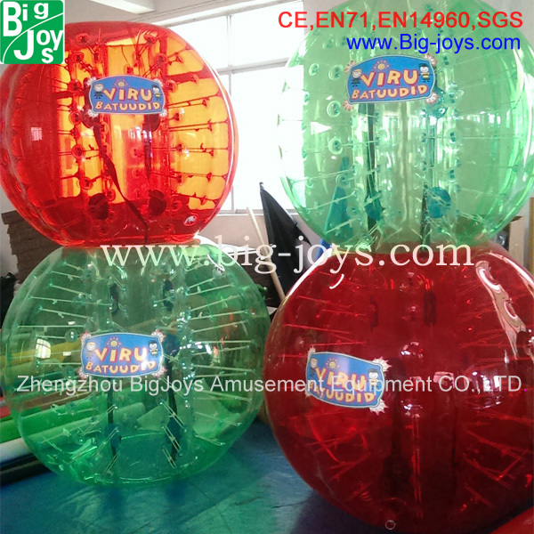 Hot selling inflatable body bumper ball human buddy bubble ball for adults