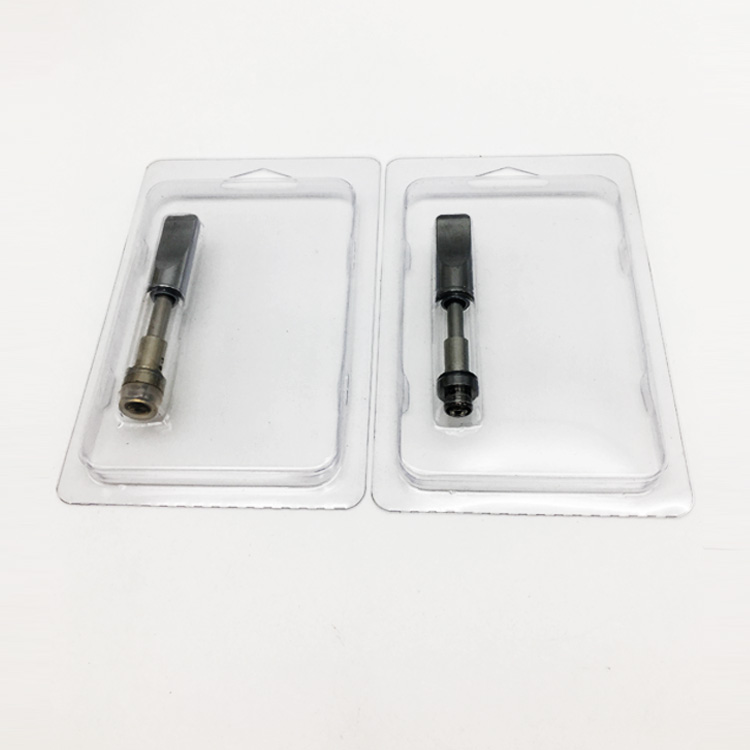 Custom clear hard plastic blister box atomizer package box with different sizes