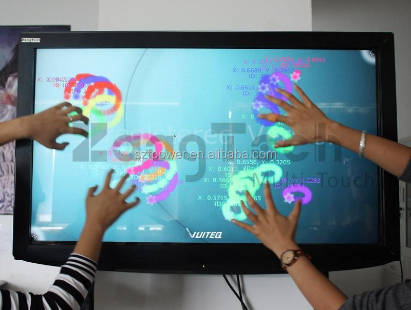 karaoke touch screen for IR Touch