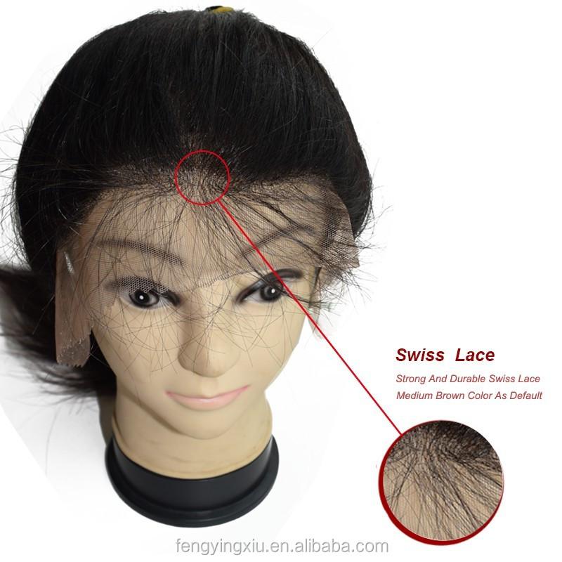 India Rambut Wig Mesin Jahit Harga Grosir Untuk Wanita Rambut Wig