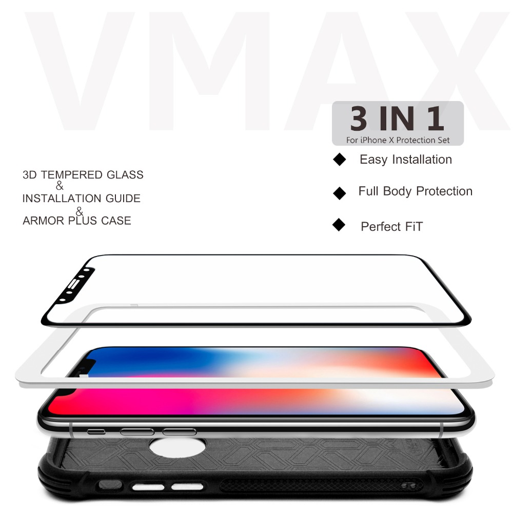 Newest! Factory price mobile phone 0.2mm/0.3mm Tempered Glass Screen protector / film for iPhone X 10 8 7 Plus