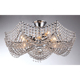 Modem design Energy saving modern crystal ceiling light