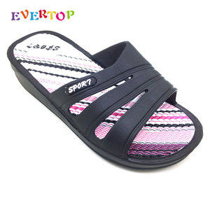 EVERTOP 2019 New Arrival Comfortable Summer High Quality Silicone Women Slipper