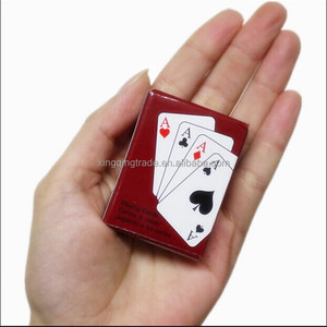 Lovely Mini Poker Interesting Playing Card Game Outside Outdoor or Travel Mini Poker
