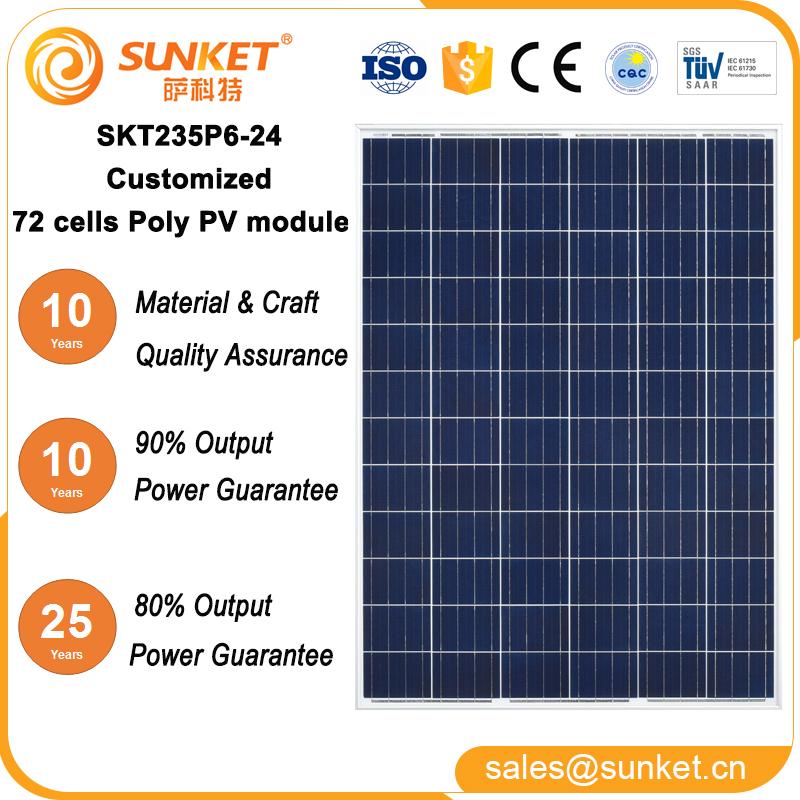 Low Cost Poly 235w 275w Pv Module 1000 Watt Solar Panel