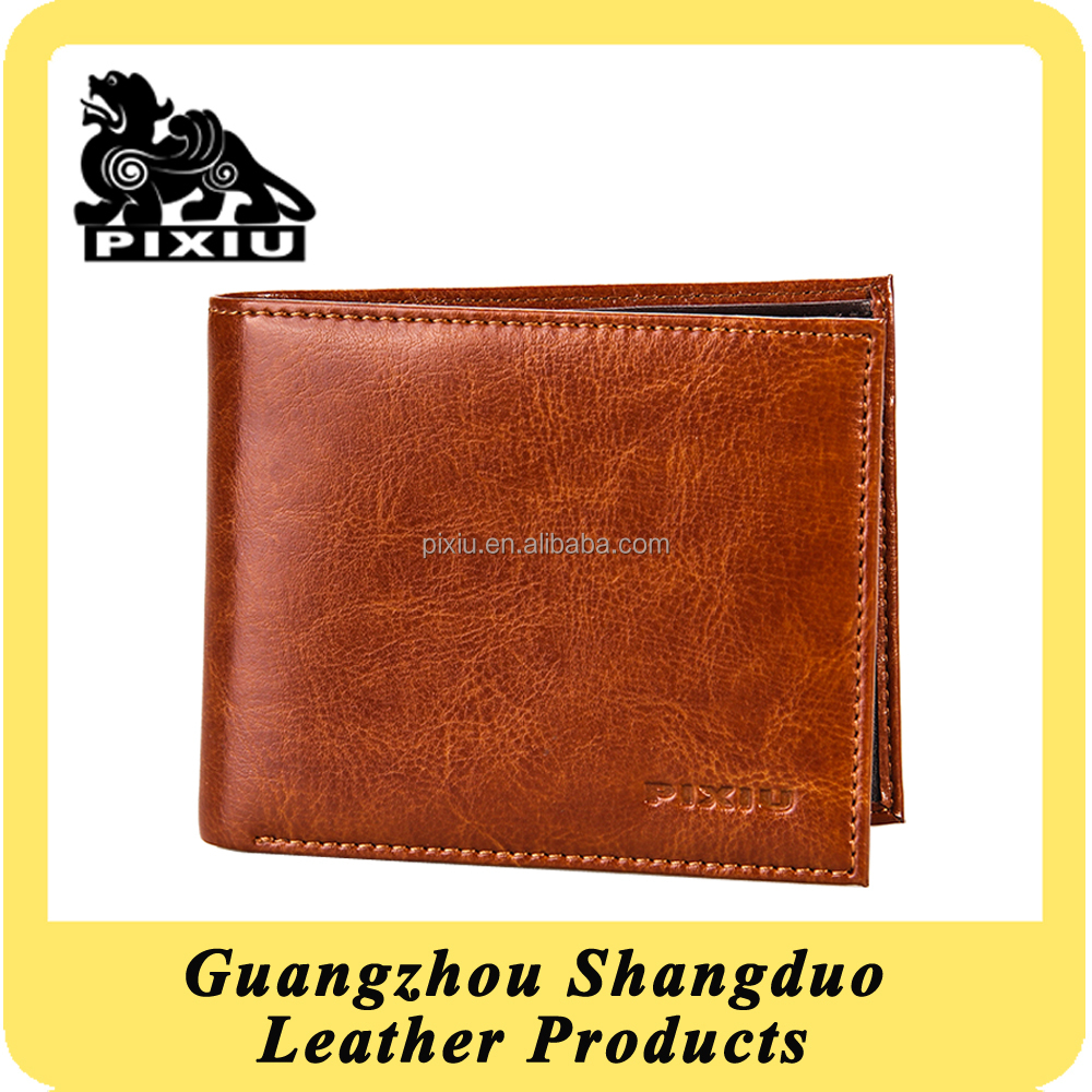 The Last New Style Design Best Price Handmade Leather Import Wallet