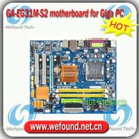 100% working for Gigabyte GA-EG31M-S2 motherboard for Desktop for Core 2 /Pentium / Celeron for LGA 775 for DDR2 RAM
