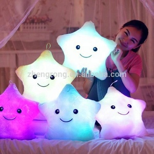 Latest Soft Plush Christmas Sofa LED Pillow For Gift