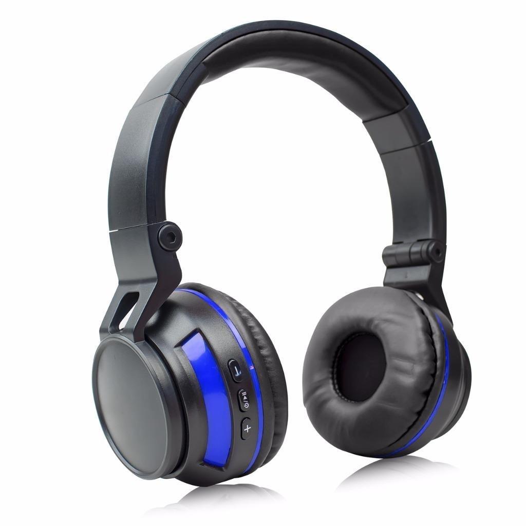 Stereo Wireless Bluetooth Headset/ Headphones for LG Stylo 3,X power 2, Aristo, M210, K3 2017, K4 2017, K8 2017, K10 2017, Tribute HD, Classic (Blue/ Black)