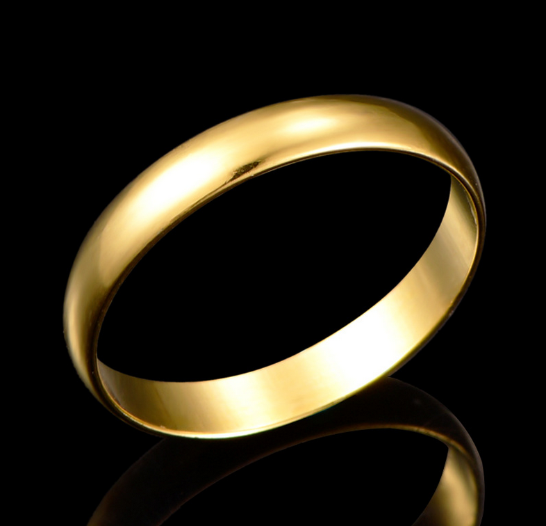 athenaa simple gold finger ring designs yiwu