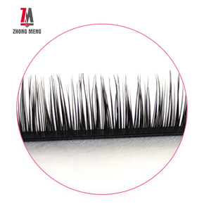 ZM Various Lengths And Thickness Looking Beautiful Easy Application Natural Black Safe For Eyes Pure Mink Eyelash Extensions