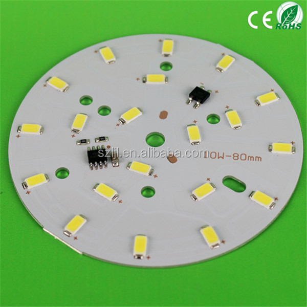Aluminum Base Led Circle Pcb Board No Ac/dc Conversion