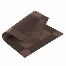 Heat-resistant Placemats PVC Placemats Stain Resistant Anti-skid Non-slip Table Mats